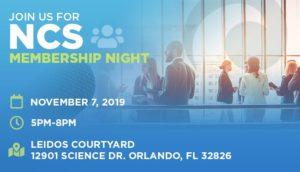 2019 Membership Night - Nov. 7 - 5pm-5:30pm